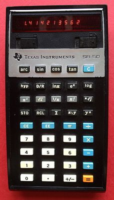 Texas Instruments SR-50
