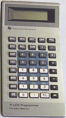 Texas Instruments TI LCD Programmer - calculator org