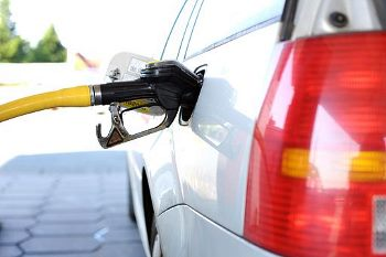 filling a car with petrol/gasoline