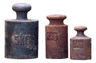 selection of old weights